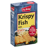 Fry Krisp Krispy Fish Mix, 10 Oz (Pack of 12)