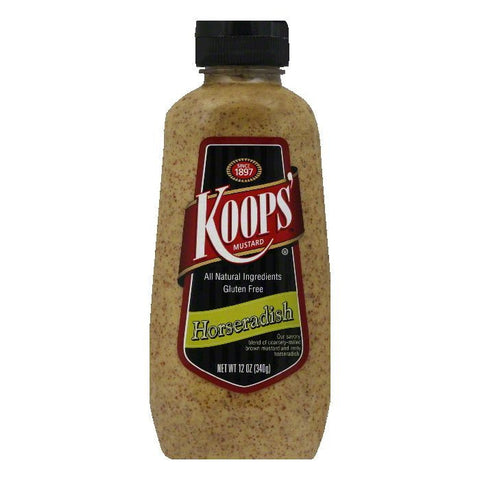 Koops Horseradish Squeeze, 12 OZ  ( Pack of  6)