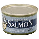 Season Blueback Red Salmon, 7.5 Oz (Pack of 6)