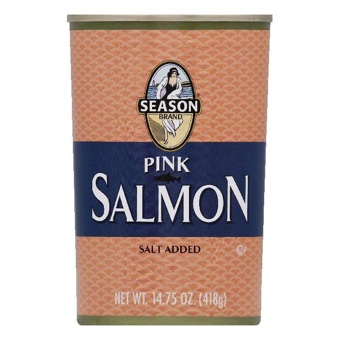 Season Pink Salmon, 14.75 OZ (Pack of 12)