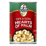 Season Tips & Cuts Hearts of Palm, 14 OZ (Pack of 12)