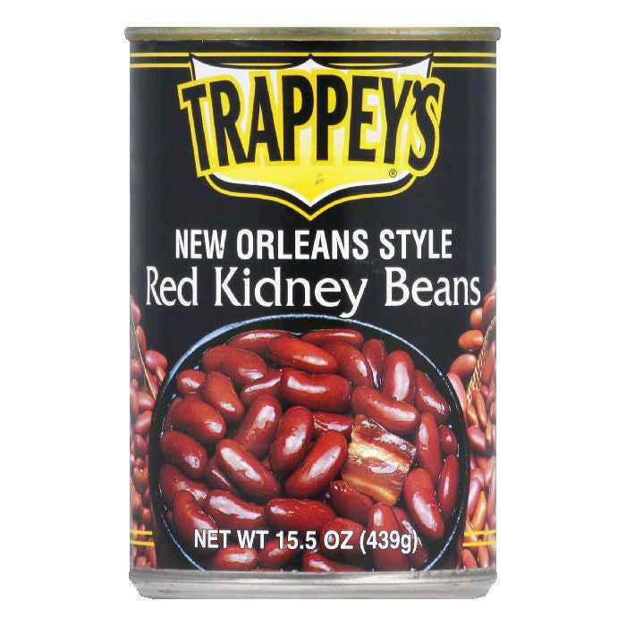 Trappeys New Orleans Style Red Kidney Beans, 15.5 OZ (Pack of 12)