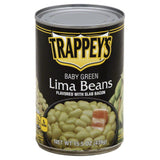 Trappeys Baby Green Lima Beans, 15.5 Oz (Pack of 12)