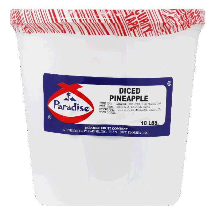 Paradise Diced Pineapple, 10 LB  ( Pack of  1)