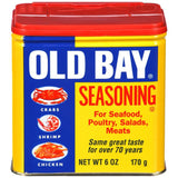 Old Bay Seasoning for Seafood, Poultry, Salads, Meats 6 oz Shaker (Pack of 12)