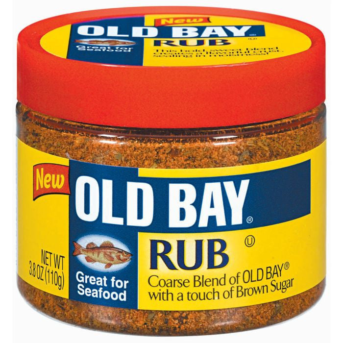 Old Bay  Seafood Rub 3.8 Oz Plastic  (Pack of 12)