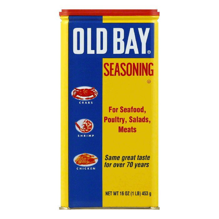 Old Bay Seasoning, 16 OZ (Pack of 12)