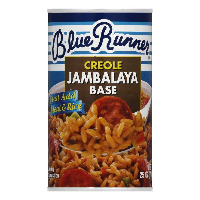 Blue Runner Creole Jambalaya Base, 25 Oz (Pack of 6)