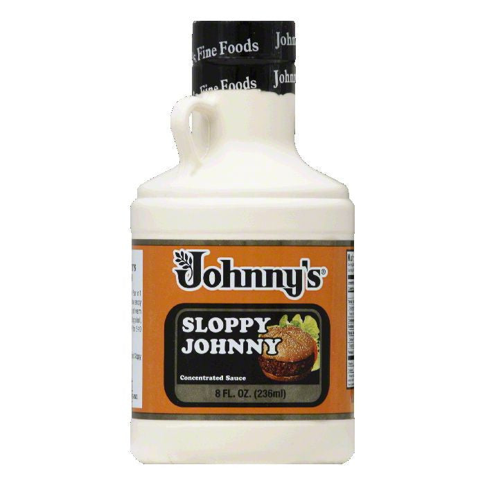 Johnnys Fine Foods Sauce Sloppy Johnny Concentrate, 8 OZ (Pack of 6)