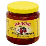 Mancini Roasted Peppers, 7 Oz (Pack of 12)