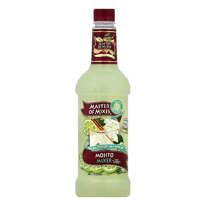 Master Of Mixes Mojito Mixer, 33.8 OZ (Pack of 6)