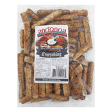 Angonoa Deli Style Breadsticks Everything, 8 OZ (Pack of 12)