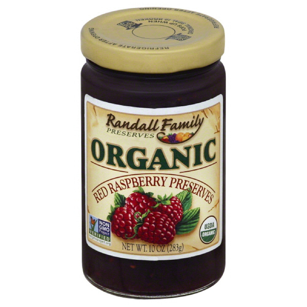 Randall Family Red Raspberry Preserves, 10 Oz (Pack of 6)