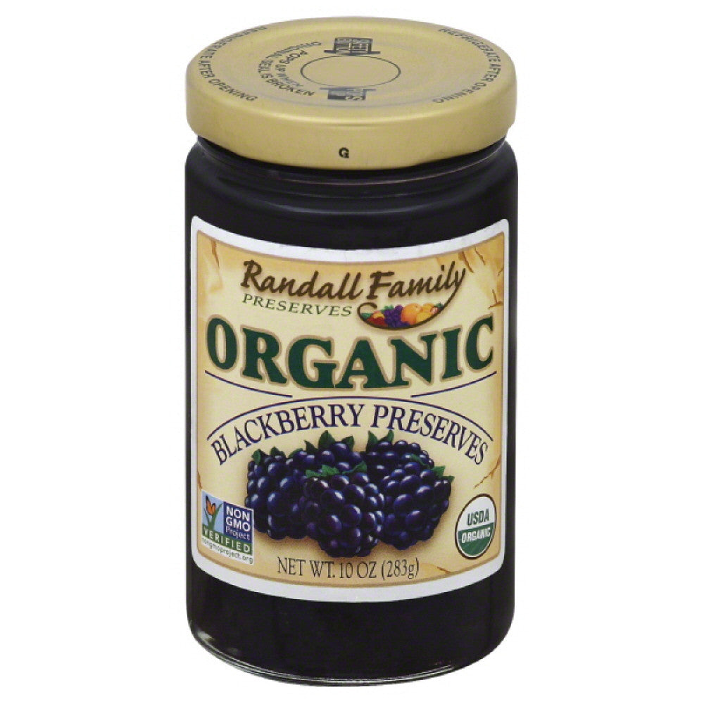 Randall Family Blackberry Preserves Preserves, 10 Oz (Pack of 6)