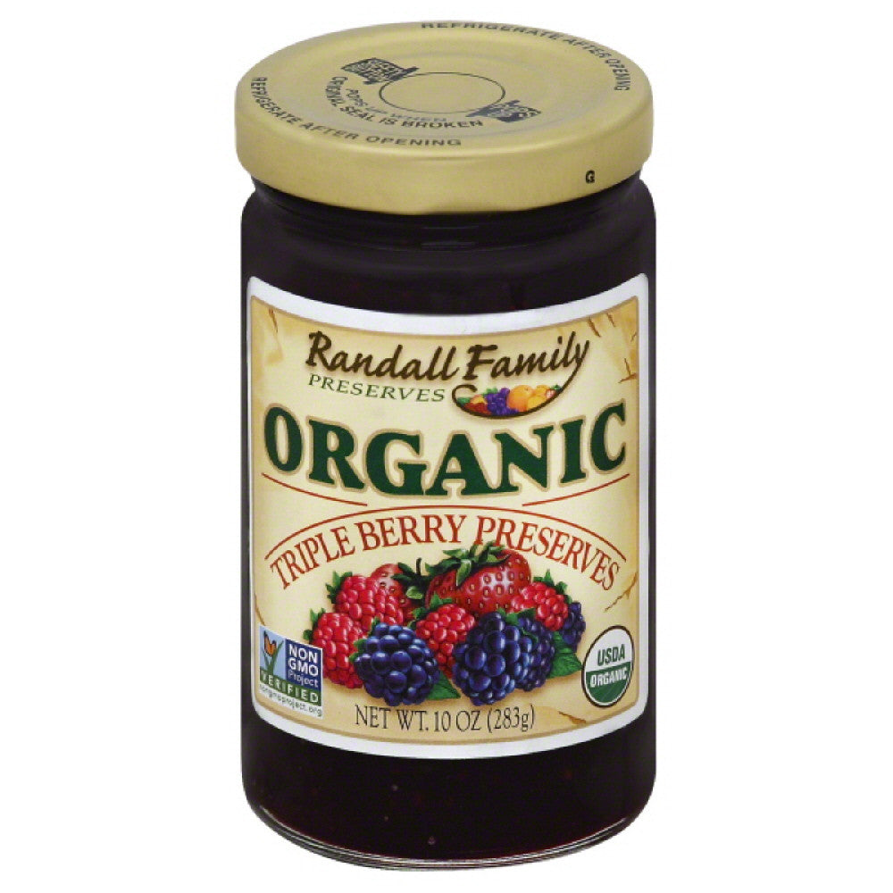 Randall Family Triple Berry Preserves, 10 Oz (Pack of 6)