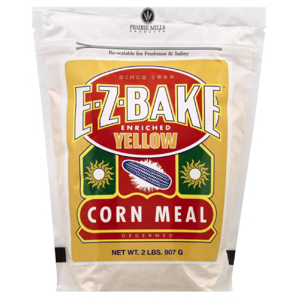 Prairie Mills Enriched Yellow Corn Meal, 2 Lb (Pack of 6)