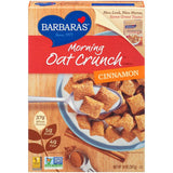 Barbara's Morning Oat Crunch Cinnamon Cereal 14 Oz  (Pack of 6)