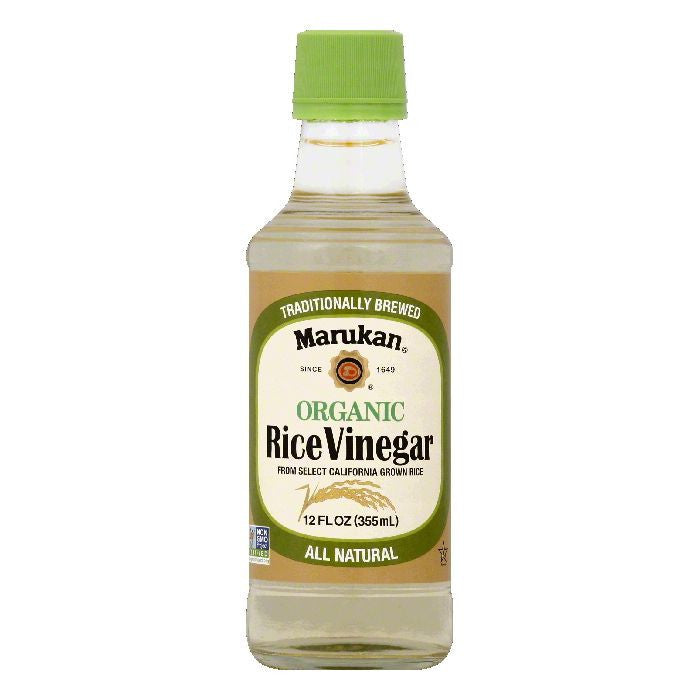 Marukan Organic Rice Vinegar, 12 OZ (Pack of 6)