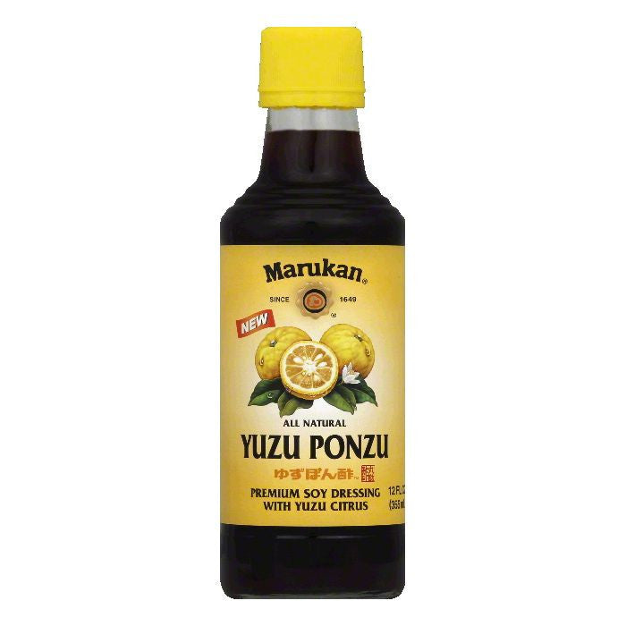 Marukan Yuzu Ponzu Dressing, 12 Oz (Pack of 6)