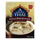 A Taste of Thai Coconut Ginger Soup Base, 2.1 OZ (Pack of 6)