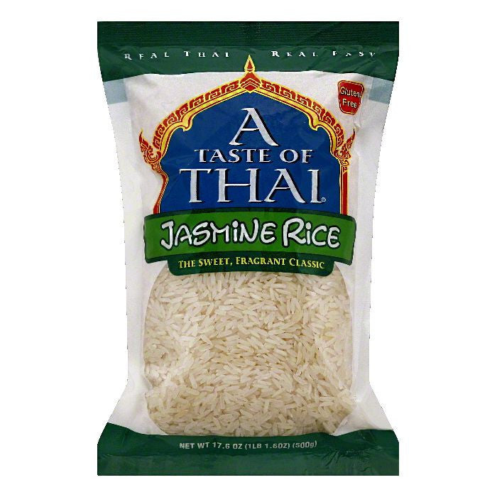 A Taste of Thai Jasmine Rice, 17.6 OZ (Pack of 6)