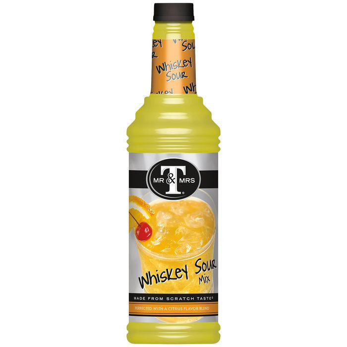 Mr. & Mrs. T Whiskey Sour Mix 1 L  (Pack of 6)