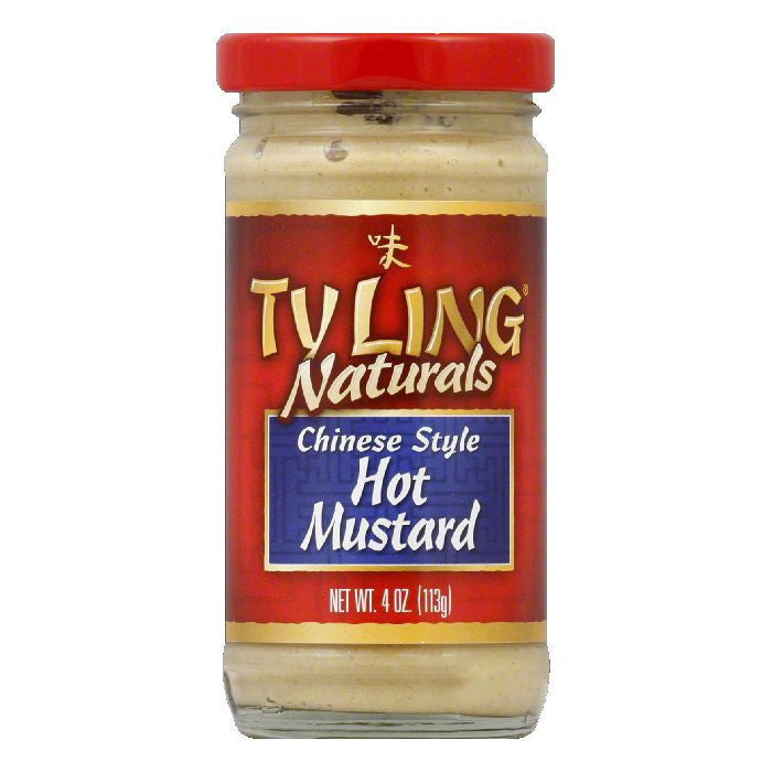 Tyling Hot Chinese Mustard, 4 OZ (Pack of 12)