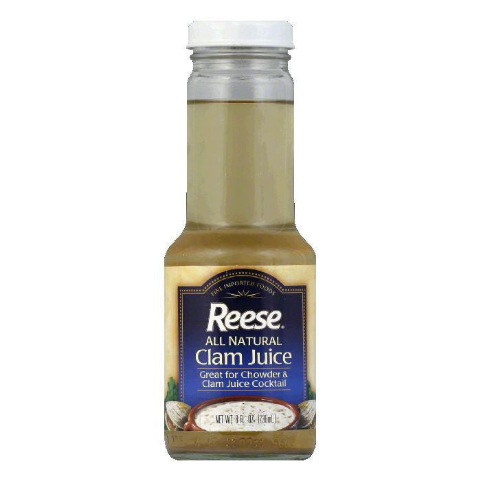 Reese Clam Juice, 8 FO  ( Pack of  6)