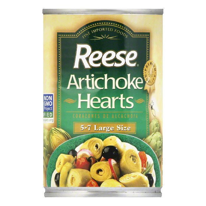 Reese Artichoke Hearts 5-7, 14 OZ (Pack of 12)