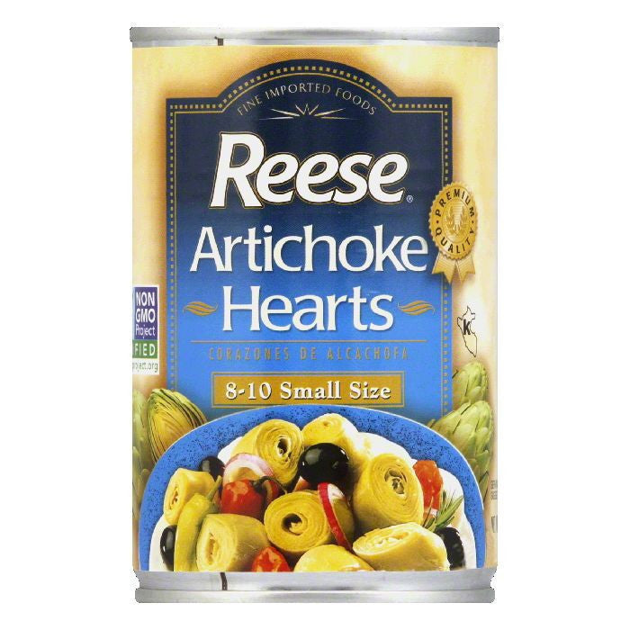 Reese Artichoke Hearts 8-10, 14 OZ (Pack of 12)