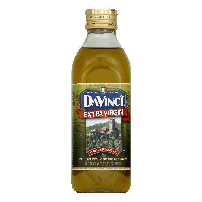 DaVinci Extra Virgin Olive Oil, 16.9 OZ (Pack of 12)