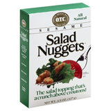 Original Trenton Crackers Sesame Salad Nuggets, 4.5 Oz (Pack of 12)