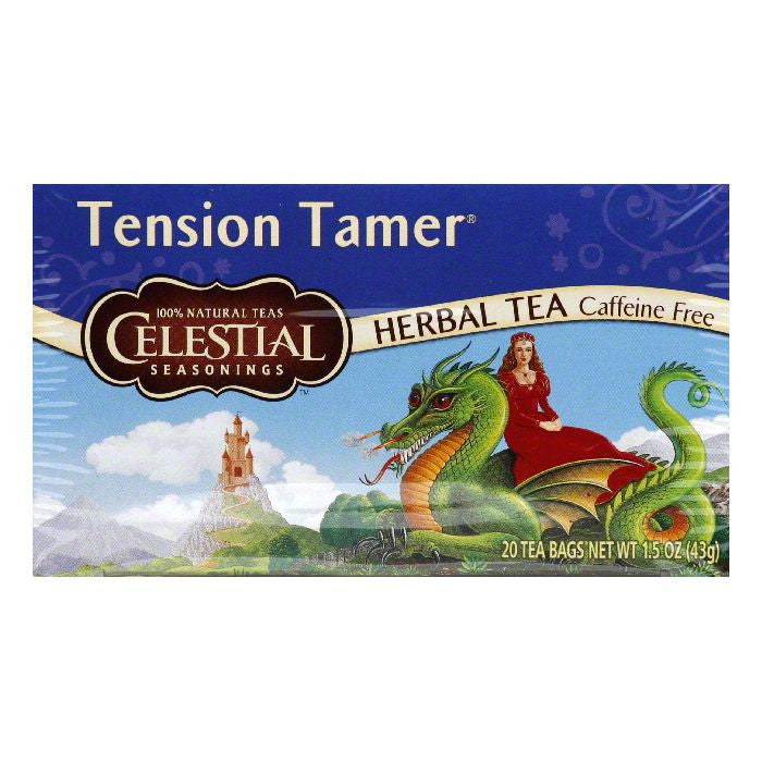 Celestial Seasonings Herb Tea Tension Tamer, 20 BG (Pack of 6)