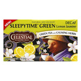 Celestial Seasonings Decaf Lemon Jasmine Green Tea, 20 BG (Pack of 6)