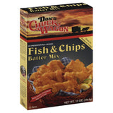Dons Chuck Wagon Fish & Chips Batter Mix, 12 Oz (Pack of 6)