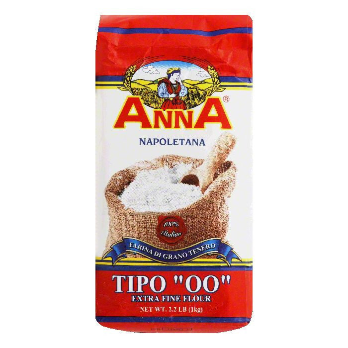Anna Tipo 00 Extra Fine Flour, 2.2 LB (Pack of 10)