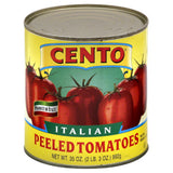 Cento Italian Peeled Tomatoes with Basil Leaf, 35 Oz (Pack of 12)