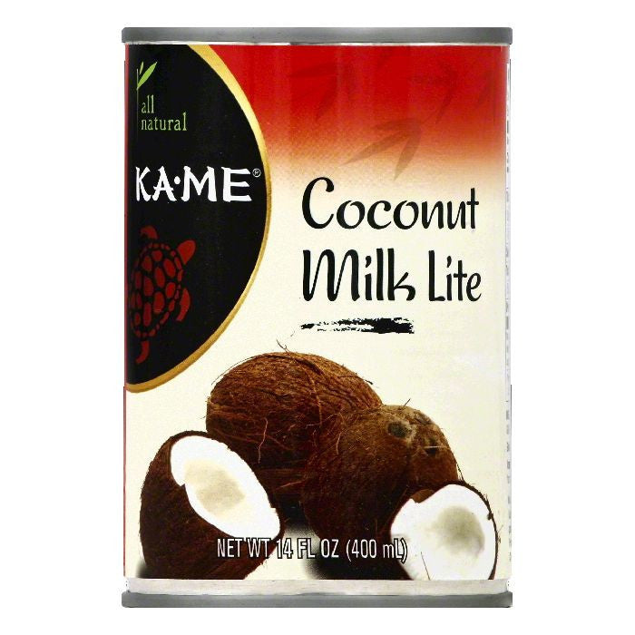 Ka Me Lite Coconut Milk, 14 OZ (Pack of 12)