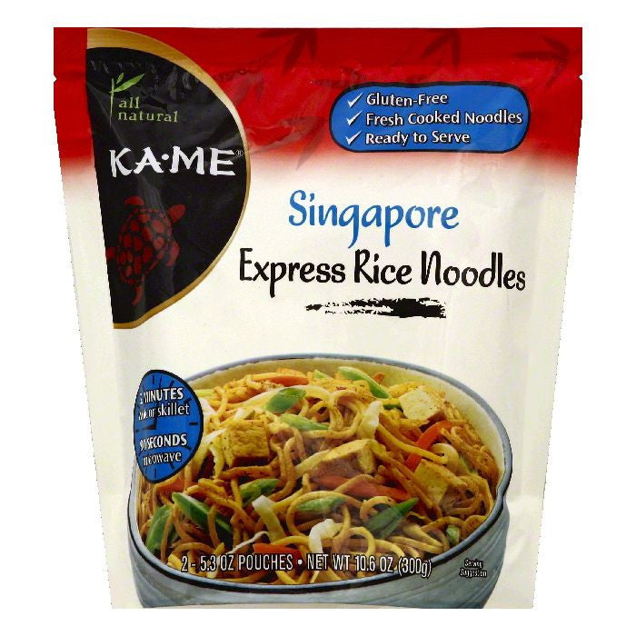 Ka Me Singapore Express Rice Noodles, 2 ea (Pack of 6)
