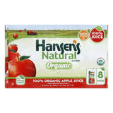 Hansens 100% Organic Apple Juice, 54 Oz (Pack of 4)
