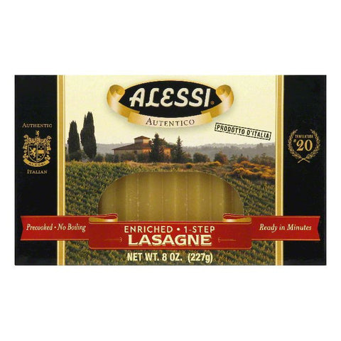 Alessi 1-Step Lasagne, 8 Oz (Pack of 12)