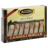 Alessi Sicilian Style Cannoli Shells, 4 Oz (Pack of 12)