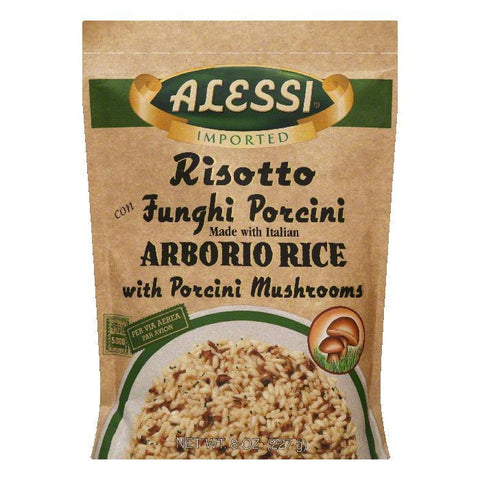 Alessi Risotto Mushroom, 8 OZ (Pack of 6)