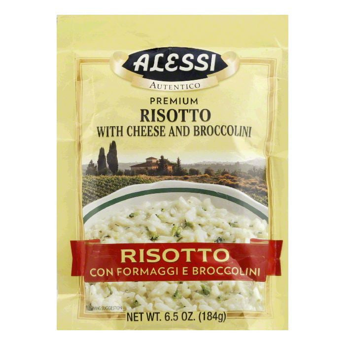 Alessi with Cheese and Broccolini Risotto, 8 Oz (Pack of 6)