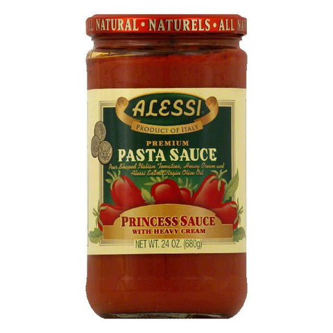 Alessi Princess Premium Pasta Sauce, 24 Oz (Pack of 6)