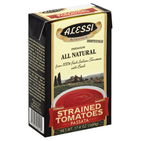 Alessi Strained Tomatoes, 17.6 Oz (Pack of 12)