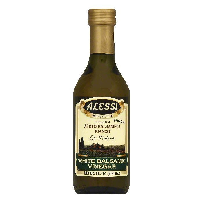 Alessi Vinegar White Balsamic, 8.5 OZ (Pack of 6)