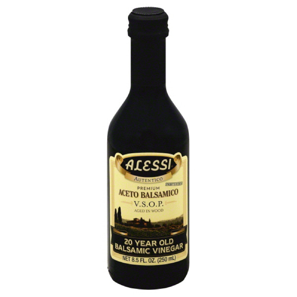 Alessi 20 Year Old Balsamic Vinegar, 8.5 Oz (Pack of 6)