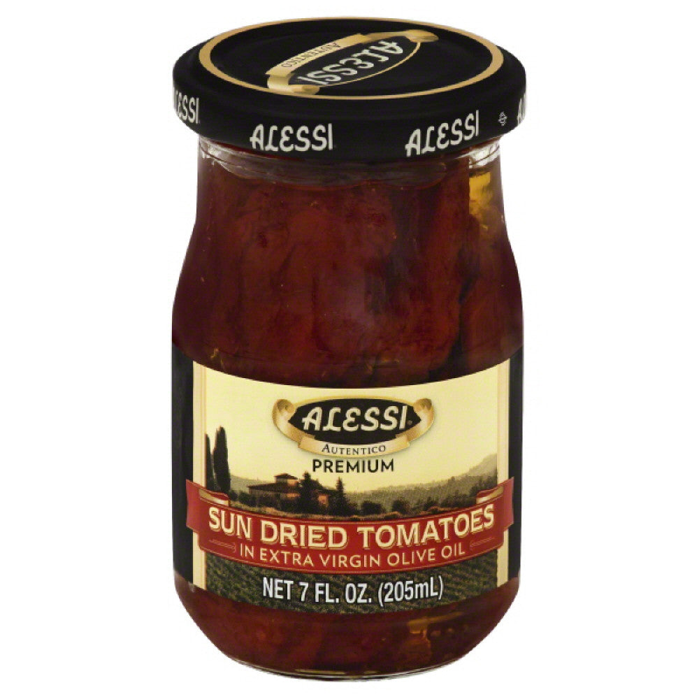 Alessi Sun Dried Tomatoes in Extra Virgin Olive Oil, 7 Oz (Pack of 6)
