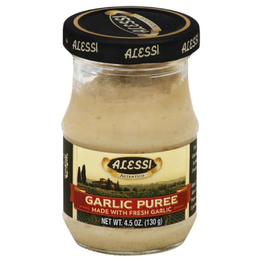 Alessi Garlic Puree, 4.5 Oz (Pack of 6)